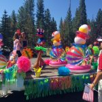 Float July 4th party